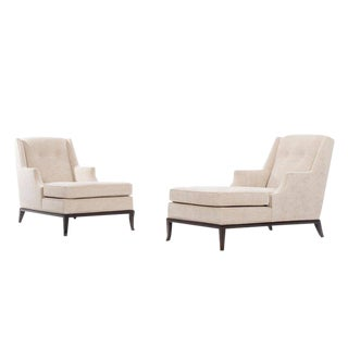 T. H. Robsjohn-Gibbings Pair of Chaise Longues For Sale