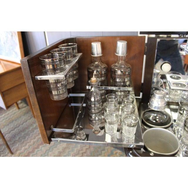 Dorothy Thorpe Philco Bar & Radio Cabinet For Sale - Image 4 of 8