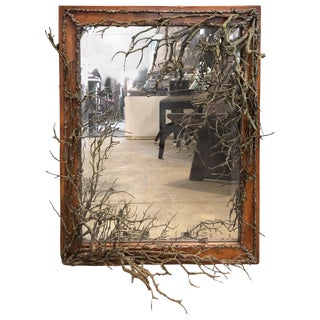 Tree Branch Frame Mirror For Sale