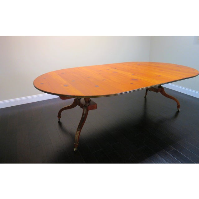 Baker 2 Leaf Dining Table - Image 6 of 6