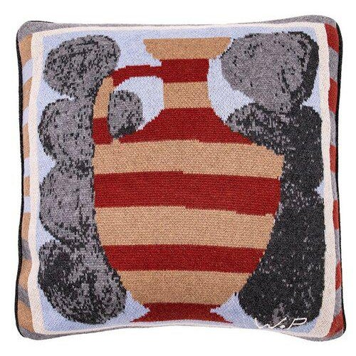 Contemporary Wayne Pate - Urn Cashmere Pillow For Sale - Image 3 of 3