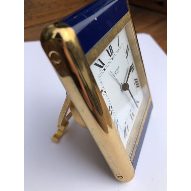 Cartier Paris Travel Clock For Sale - Image 11 of 13