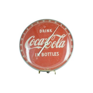 Vintage Coca Cola Thermometer For Sale