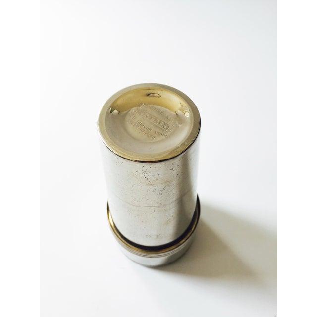 Vintage Metal Travel Mugs - Set of 6 - Image 6 of 6