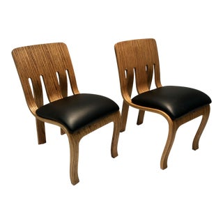 1970s Vintage Peter Danko for Thonet Bentwood Chairs- A Pair For Sale