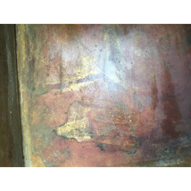 Mid-Century Modernist Copper Planter For Sale In Pittsburgh - Image 6 of 7