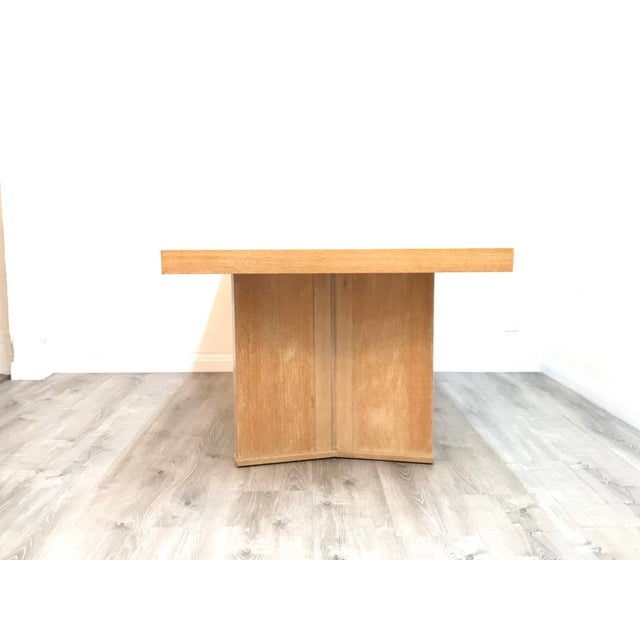 Art Deco Mid Century Modern Paul Frankl Style Dining Table For Sale - Image 3 of 12