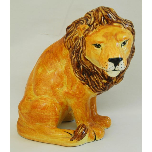 Mid-Century Italian Lion by Bellini - Image 2 of 9