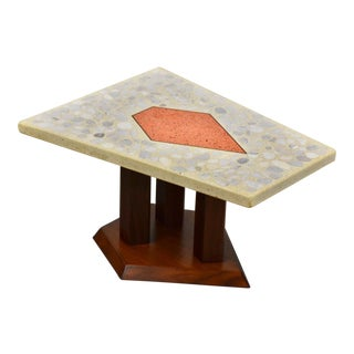 Harvey Probber Terrazzo Occasional End Table For Sale