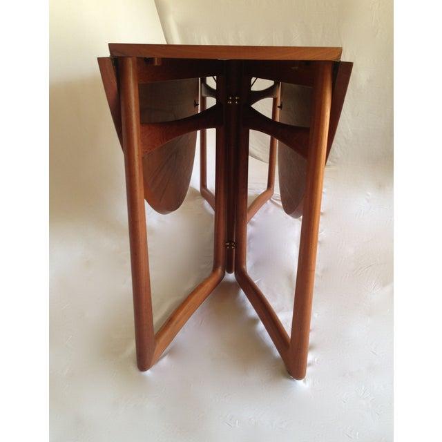 Peter Hvidt & Orla Molgaard Drop-Leaf Table - Image 5 of 9