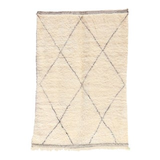 Beni Ourain Vintage Moroccan Rug For Sale