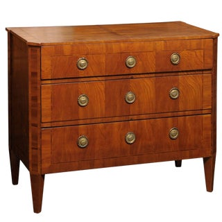 18th Century Antique Swedish Gustavian Chest of Drawers For Sale