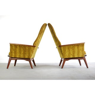 High Back Chairs Attributed to Adrian Pearsall for Craft – a Set of 2 Preview