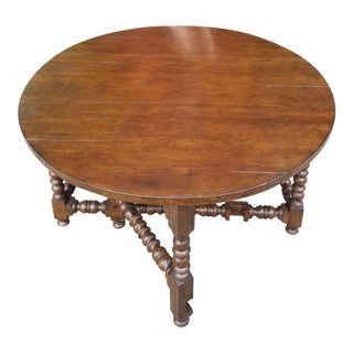 Rustic Olivais Walnut Library Table