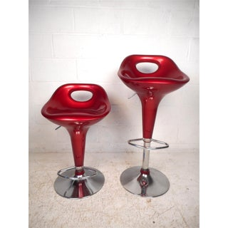 Retro Style Bar Stools - Set of 4 Preview