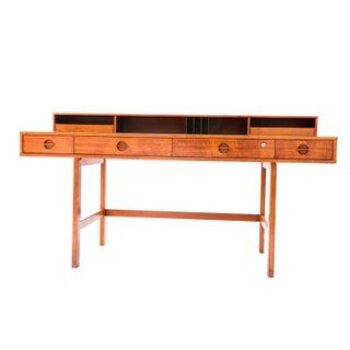 Peter Løvig Nielsen Danish Modern Teak Flip Top Desk