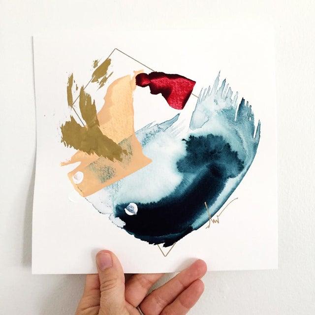 "Beth Winterburn Original Abstract - ""5/13. 13."" - Image 3 of 3"
