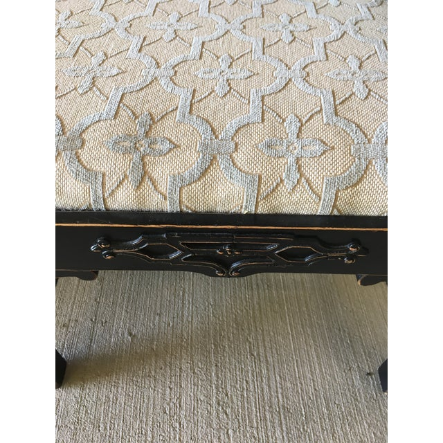 Chinese Chippendale Bench Settee For Sale In Richmond - Image 6 of 8