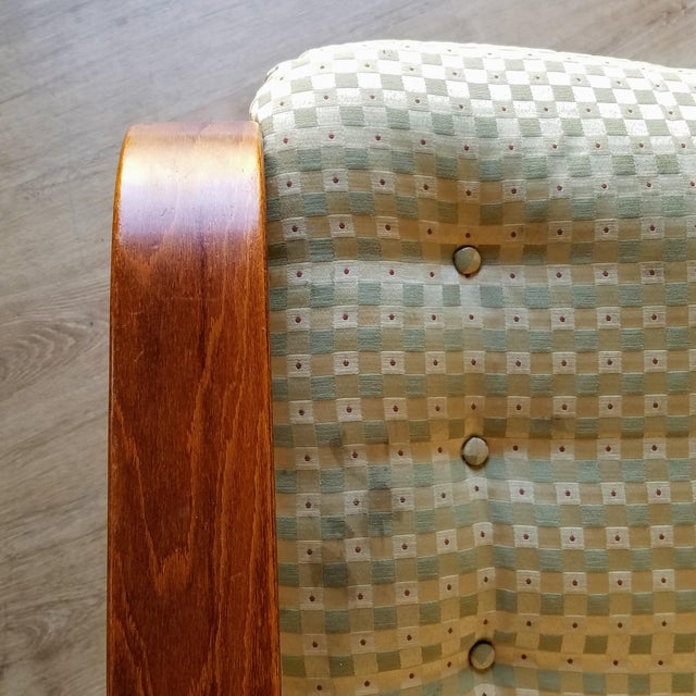 1970s Westnofa Bentwood Lounge Chairs - a Pair For Sale - Image 10 of 13