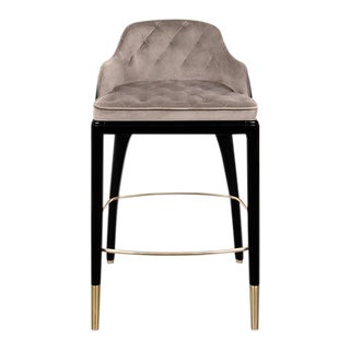 Covet Paris Modern Charla Bar Chair For Sale