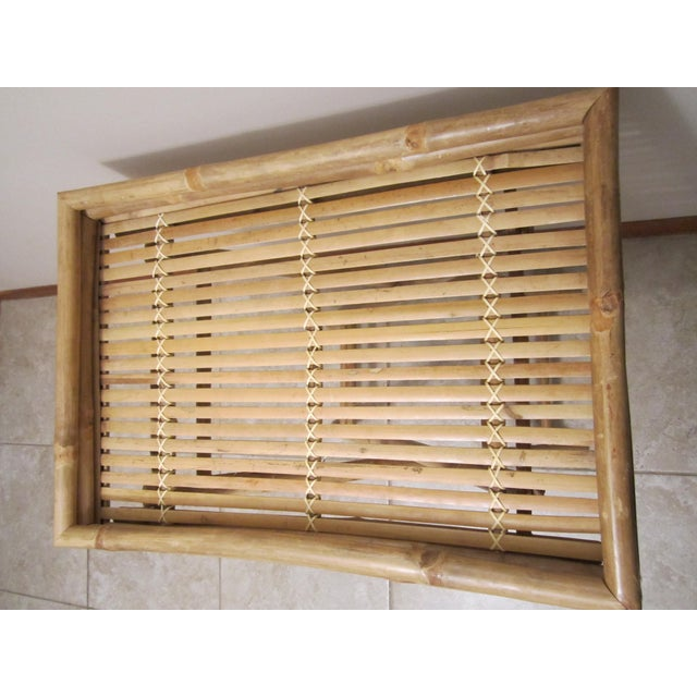 Bamboo & Rattan Table Tray - Image 6 of 11