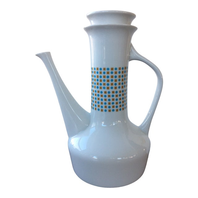 Paul McCobb Coffee Pot Hopscotch Jackson Internationale For Sale
