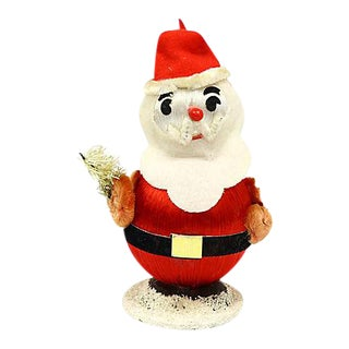 Midcentury Figural Santa Clause Ornament For Sale