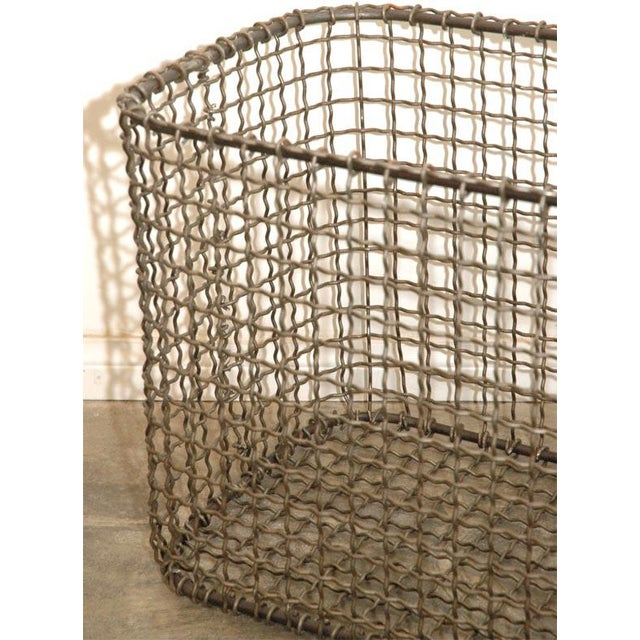 Metal JW Wire Basket For Sale - Image 7 of 9