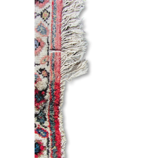 "Red and Blue Peshawar Area Rug - 13'1"" X 10' - Image 3 of 8"