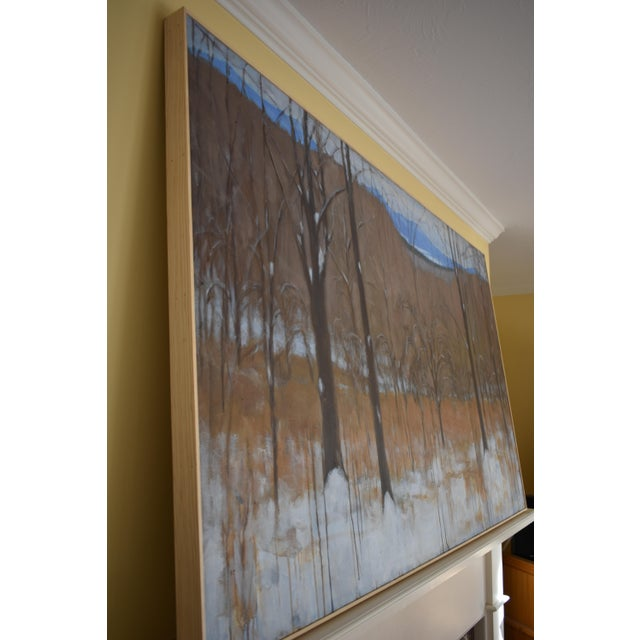 """Stephen Remick """"Heading Up the Hill, Looking Back"""" Large Contemporary Landscape Painting For Sale - Image 10 of 12"""