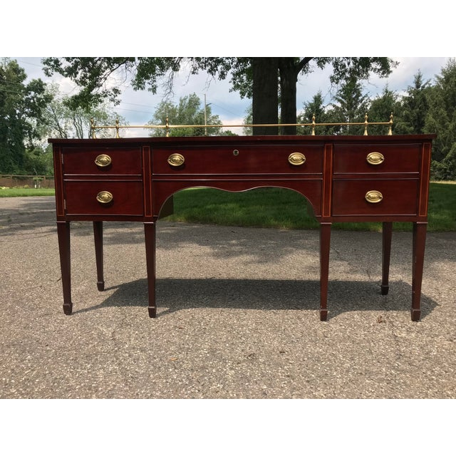 Traditional Cherry Side Board by Kindel For Sale - Image 11 of 11