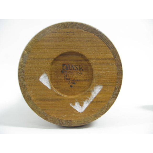"""Dansk Staved Teak """"Congo"""" Ice Bucket by Jens Quistgaard For Sale In Charleston - Image 6 of 11"""