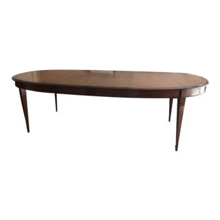 Grange Directoire Oval Dining Table With Self-Storing Leaves For Sale