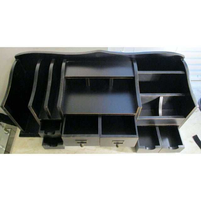 2010s Ballard Designs Home Office Desk Organizer For Sale - Image 5 of 11