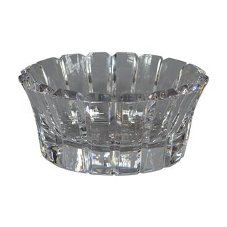 Orrefors Cut-Crystal Bowl For Sale