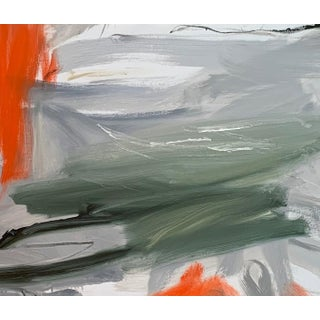 """""""Krakatoa 2"""" by Trixie Pitts Large Abstract Expressionist Oil Painting Preview"""