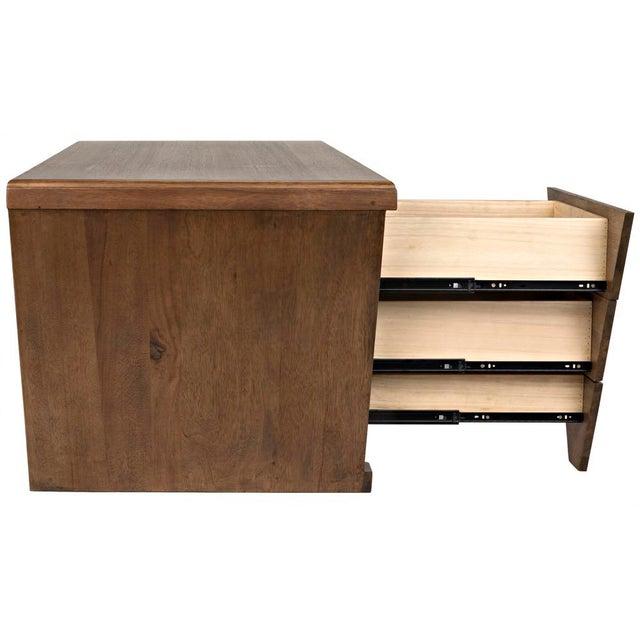 Tetramo Desk, Dark Walnut For Sale - Image 11 of 13