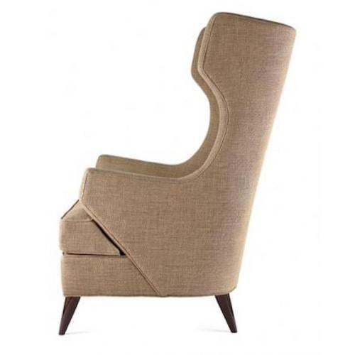 The Benjamin Wing Back Club chair is available in a variety of woods, stains and finishes.