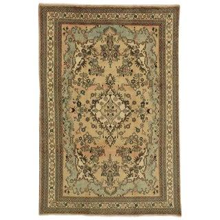 Vintage Persian American Sarouk Style Hamadan Wool Rug - 6′8″ × 10′ For Sale