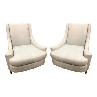 Pair of Barbara Barry Art Deco Joan Club Chair For Sale
