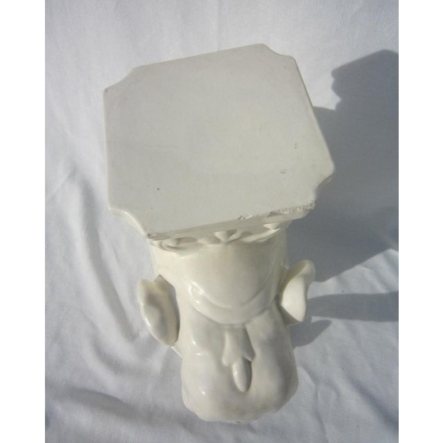 Ceramic Elephant Garden Stool - Image 5 of 6