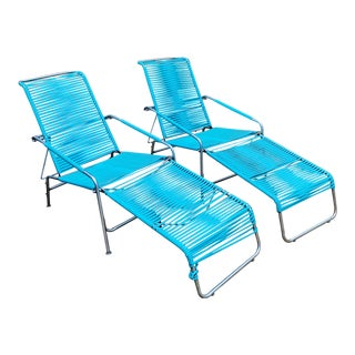 Mid-Century Modern Ames Aire Outdoor Lounge Chairs - a Pair For Sale