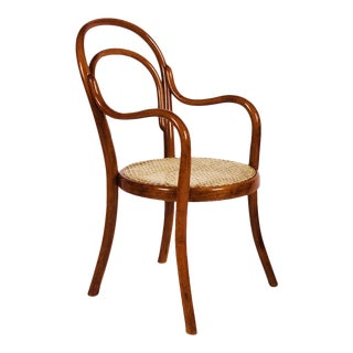 Vintage Nr 1 chair made of bentwood by Thonet For Sale