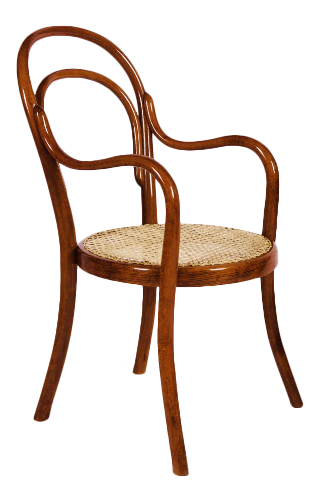 Vintage Nr 1 Chair Made Of Bentwood By Thonet