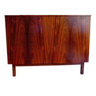 Mid Century Rosewood Bar Cabinet Storage
