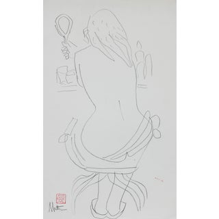 1999 Nude Figure Drawing by Rip Matteson