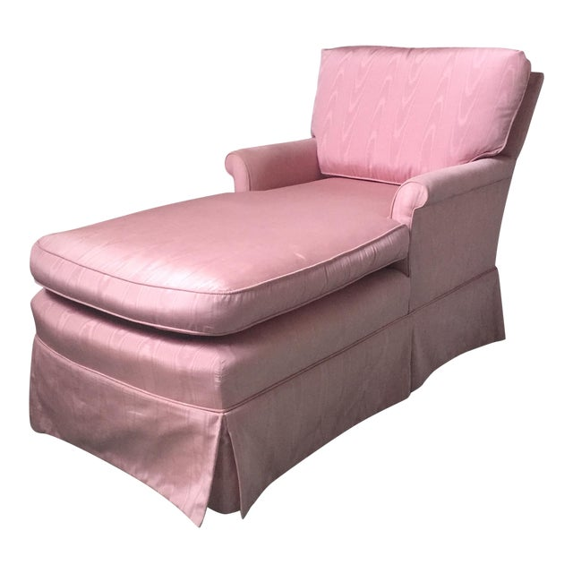 Vintage Pink Chaise Lounge - Image 1 of 11