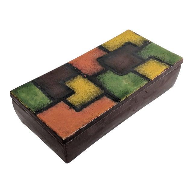 Italian Raymor Ceramic Box - Image 1 of 9