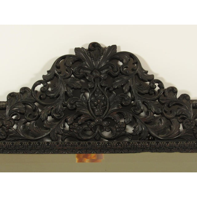 English Traditional 19th Century Rococo Style Mirror For Sale - Image 3 of 7