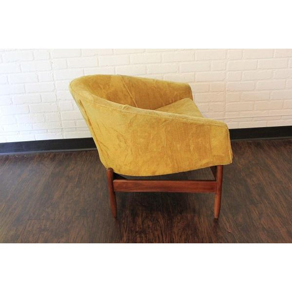 Danish Modern Lawrence Peabody Lounge Chair For Sale - Image 3 of 6